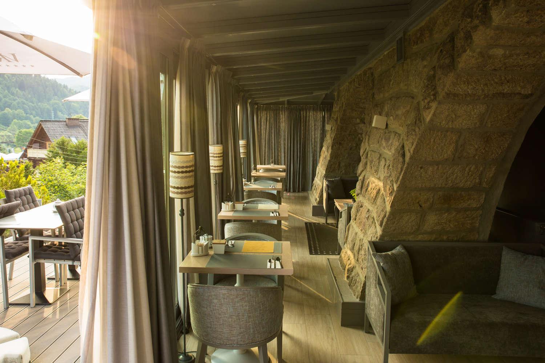 widok z naszej restauracji
