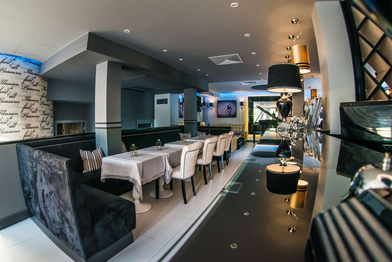la passione wisła wystrój restauracji