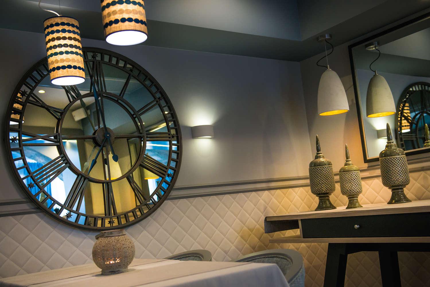 wnętrze w restauracji la passione