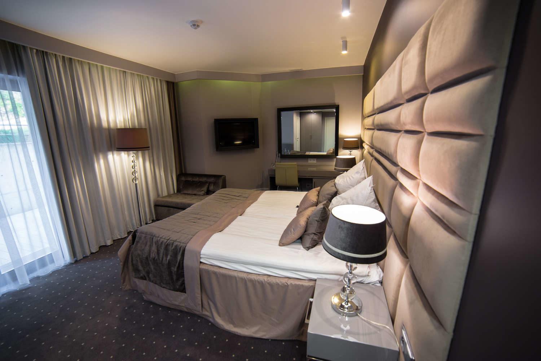 hotel wisła łóżko dwuosobowe