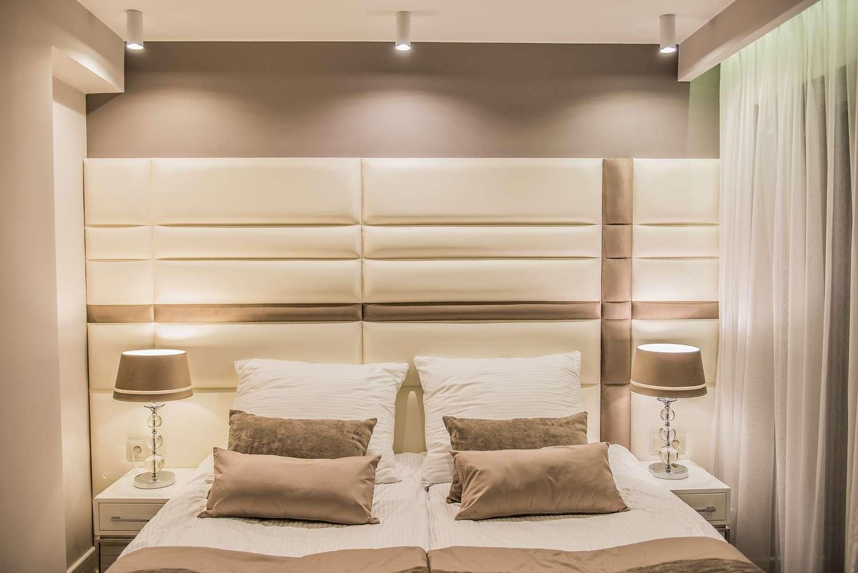 duże łoże w villi rubinstein